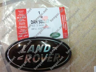 Фото Эмблема Land Rover в решетку (черная) на Range Rover Vogue L322 (2005-2013) DAH500330
