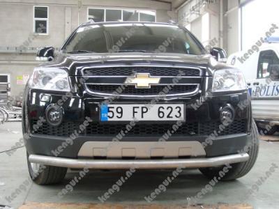 Фото Акция!!! Защита передняя  ус  Chevrolet Captiva