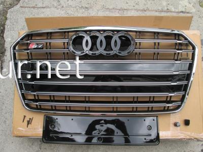 Фото Решетка радиатора Audi A7 стиль S7 2015-