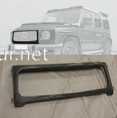 Фото Корпус Решетки Окантовка карбон Mercedes AMG W464 W463A G63