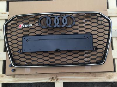 Фото Решетка радиатора на Audi A6 (2014-...) в стиле RS6 4F0853651ALYNP 4G0853651T