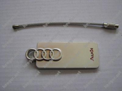 Фото Брелок на тросике Audi