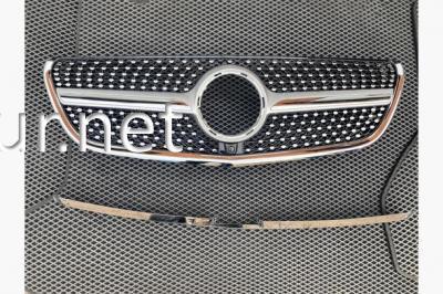 Фото Решетка радиатора (Diamond Silver) Mercedes Vito W447