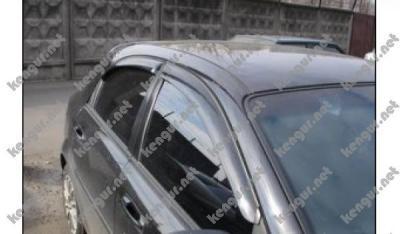 Фото Дефлекторы дверей (ветровики) на Chevrolet Lacetti (2005-...)