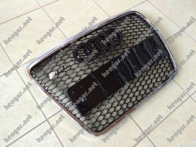 Фото Решетка радиатора Audi A6 стиль RS6 Chrome 2008-2012 4F0853651AN