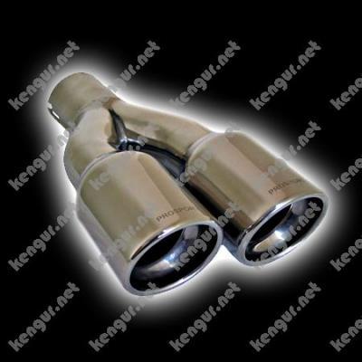 Фото Насадки на выхлопные трубы (двойные)