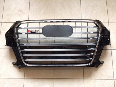 Фото Решетка радиатора SQ3 для Audi Q3 (2011-...) чёрная 8U0 853 651G
