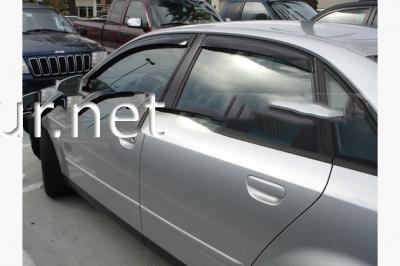 Фото Дефлекторы окон - ветровики (Cobra) Audi A6 2004-2011 (седан)