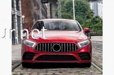 Фото Решетка радиатора GT (chromе) Mercedes CLS C257 2018-...