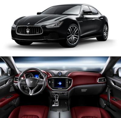Фото Салон карбоновый на Maserati Ghibli 2013+