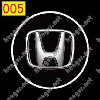 Фото Лазерная подсветка дверей с логотипом Honda (№005)
