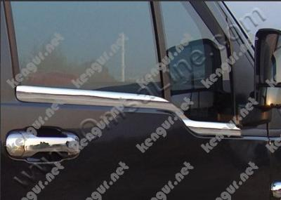 Фото Наружняя окантовка стекол Ford Connect (нерж.) 2 шт.