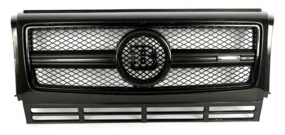 Фото Карбоновая решетка в стиле Brabus на Mercedes Benz G Class W463 B900 G55 G63 G65