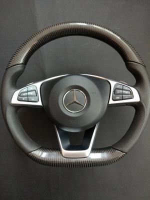 Фото Карбоновый руль Mercedes Benz W205 AMG C Class