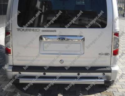 Фото Хром Накладка над номером на крышку багажника Ford Connect (нерж.)