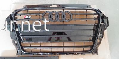 Фото Решетка радиатора Audi A3 стиль S3 2012-2015 all black