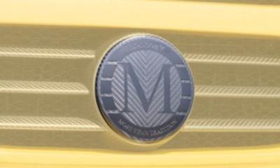 Фото Карбоновая эмблема в решетку стиль Mansory Mercedes-Benz G-Class W463
