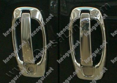 Фото Хром накладки на дверные ручки (8 шт.) (нерж.) 4 дверн