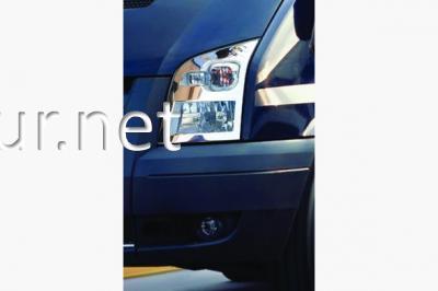 Фото Накладки на передние фары Ford Transit 2007-…