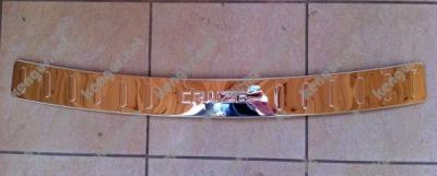 Фото Хром накладка на задний бампер Chevrolet Cruze