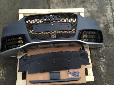 Фото Передний бампер Audi A5 стиль RS5 (2012-2015) с решеткой радиатора 8T0807065BGRU