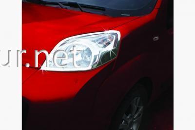 Фото Накладки на передние фары Fiat Fiorino 2008-…