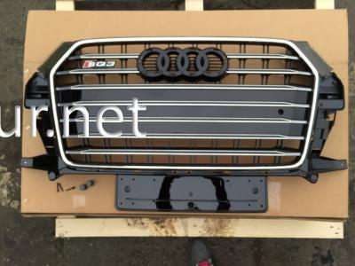 Фото Решетка радиатора Audi Q3 стиль SQ3 Chrome (2015-...)