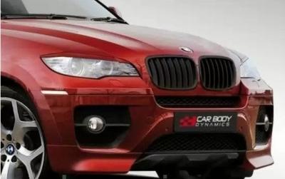 Фото Юбка переднего бампера CarBodyDynamics на BMW X6 E71