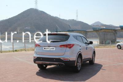 Фото Накладки на стопы (Clover) Hyundai Santa Fe 2010-2013
