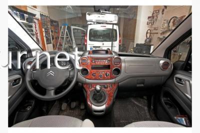 Фото Накладки на панель Citroen Berlingo 2008-2018