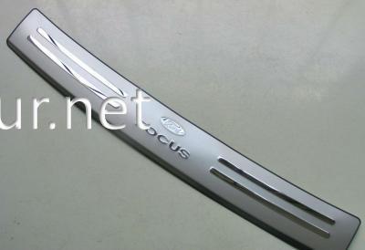 Фото Накладка на задний бампер Ford Focus 2012-…
