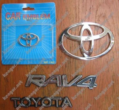 Фото Значки эмблемы на Toyota