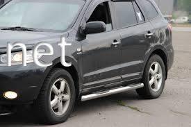 Фото Пороги боковые (трубы) Hyundai Santa Fe 2006-…