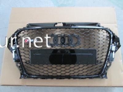 Фото Решетка радиатора Audi A3 стиль RS3 2012-2015 all black