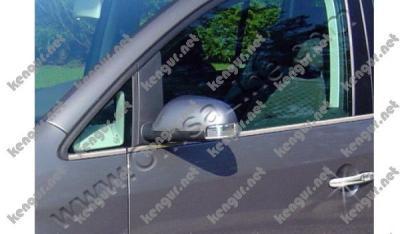 Фото Наружняя окантовка стекол Volkswagen Touran (нерж.) 8 шт.