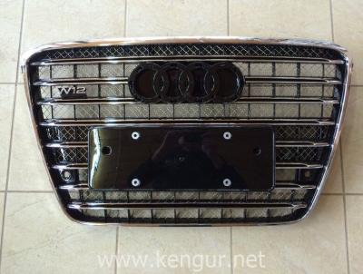 Фото Решетка радиатора D-4 W12 (без Night Vision) на Audi A8 2011-2014