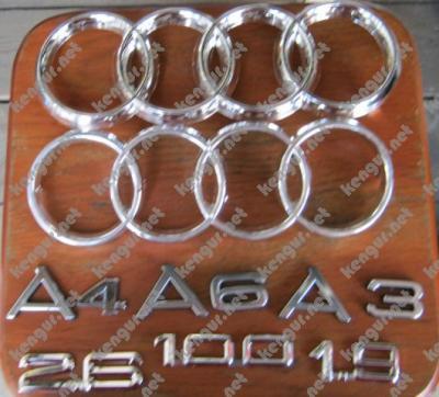 Фото Значки эмблемы на Audi