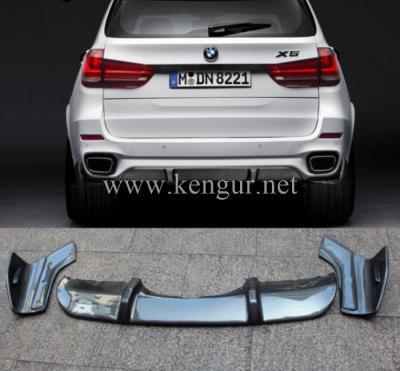Фото Карбоновый диффузор заднего бампера BMW X5 F15 M-Performance