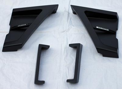 Фото Накладки на крылья перед и зад в стиле Brabus Widestar Mercedes G-class w463