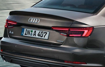 Фото Спойлер на крышку багажника S4  Audi A4 (2016-...)
