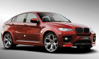 Фото Боковые пороги BMW X6 E71 под оригинал BM0X608-4A0-N