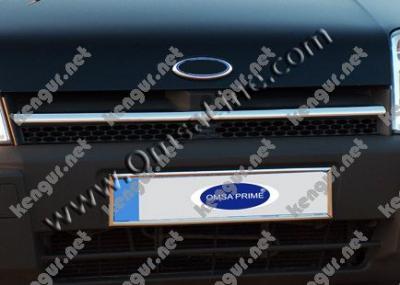 Фото Хром накладки на решетку радиатора Ford Connect (нерж.)