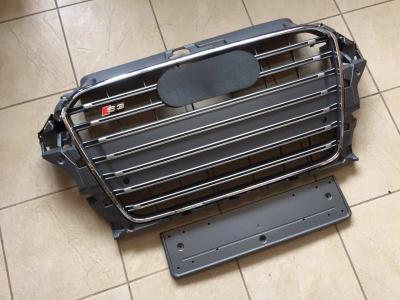Фото Решетка радиатора Audi A3 в стиле S3 серая 8V3853651E