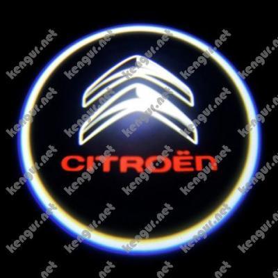 Фото Лазерная подсветка дверей с логотипом на Citroen Berlingo