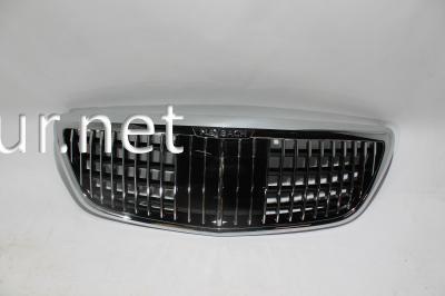 Фото Решетка радиатора (стиль Maybach) Mercedes W222 2018-...