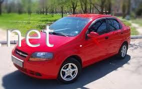 Фото Дефлекторы окон (ветровики) Chevrolet Aveo 2002-2008