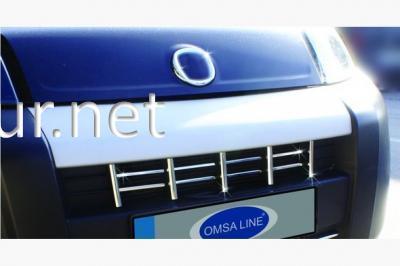 Фото Накладки на решетку радиатора Fiat Fiorino 2008-…