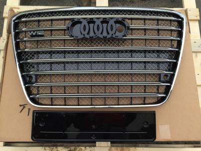 Фото Решетка радиатора D-4 W12 (с Night Vision) на Audi A8 2011-2014