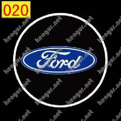 Фото Лазерная подсветка дверей с логотипом Ford (№020)
