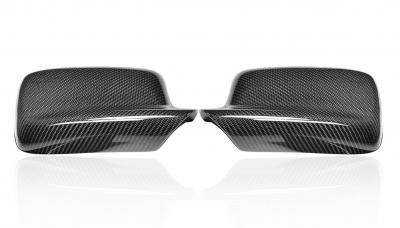 Фото Карбоновые накладки на зеркала BMW E46
